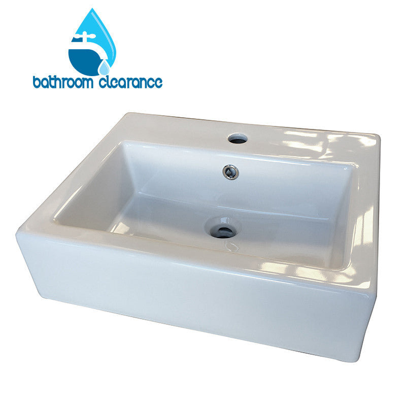 VERSARE SQUARE BASIN 410X500 - Bathroom Clearance