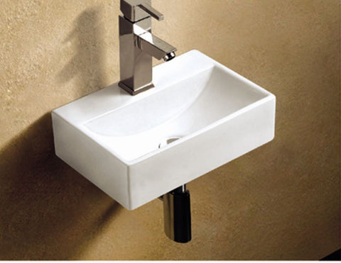 LEGEND CENTER HAND SMALL BASIN 370X260 - Bathroom Clearance