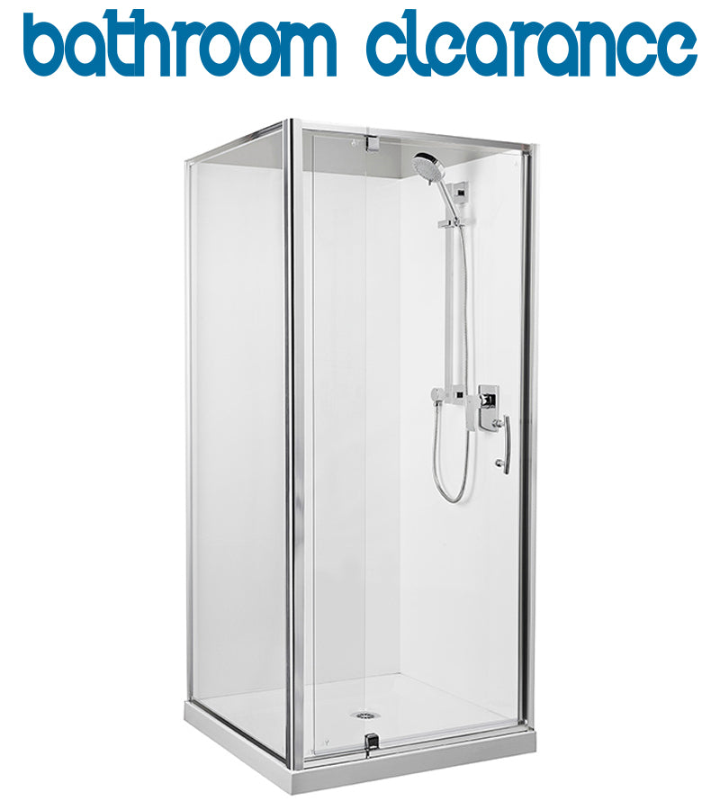 Square 1000 x 1000 Chrome Shower, **SPECIAL-LIMTED STOCK** - Bathroom Clearance