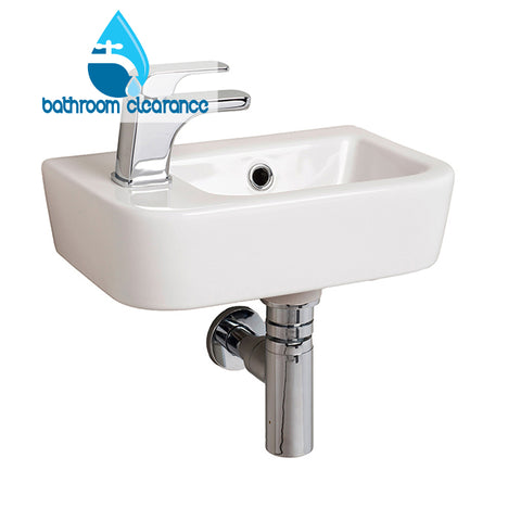 LEGEND LEFT HAND SMALL BASIN 370x245 - Bathroom Clearance