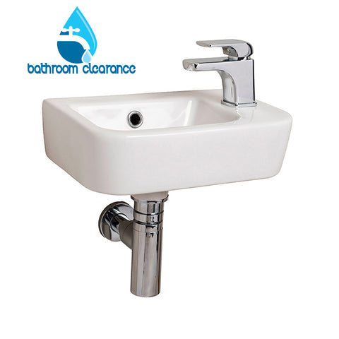 LEGEND  RIGHT HAND SMALL BASIN 370X245 - Bathroom Clearance