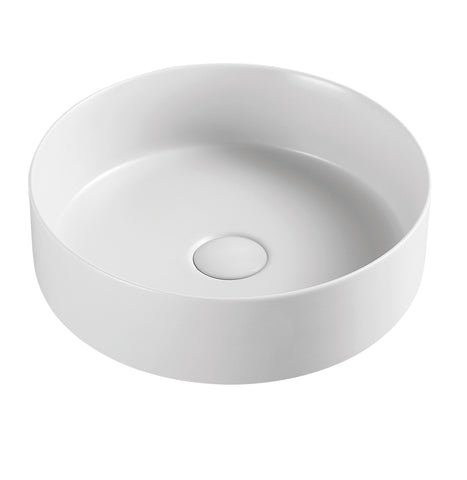 MATTE WHITE BASIN 360MM - bathroom-clearance-limited