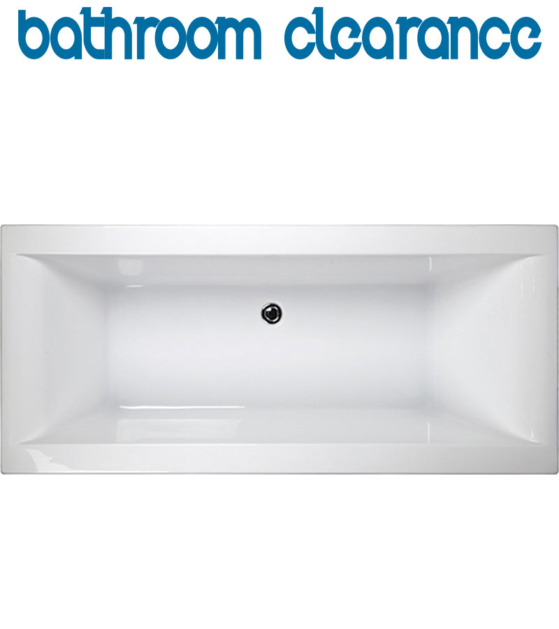 PRIMARIO DROP IN BATH SQUARE 1700 - Bathroom Clearance