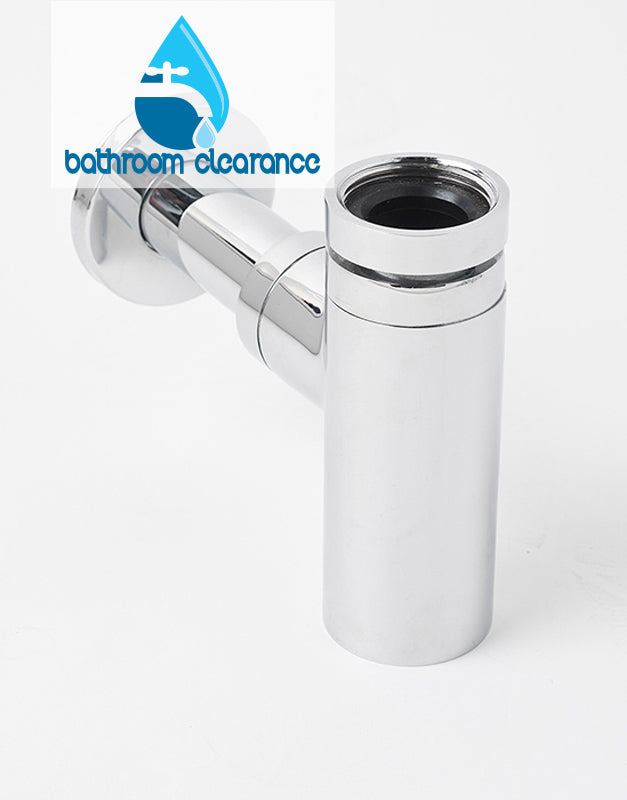 32mm MINIMAL ROUND BOTTLE TRAP - Bathroom Clearance