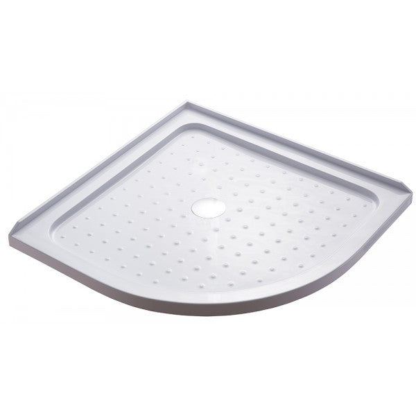 TONDO ROUND SHOWER TRAY CENTRE WASTE 1000x1000 - Bathroom Clearance