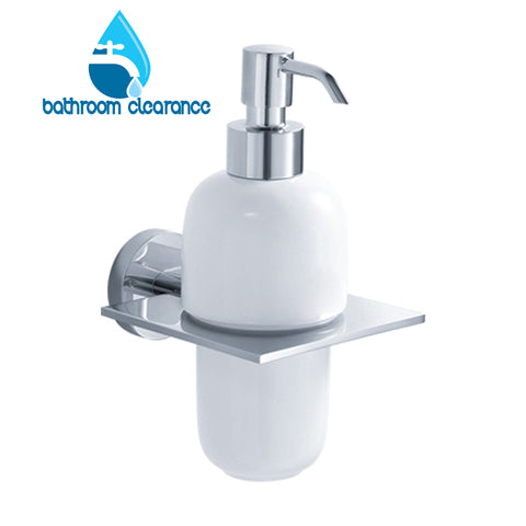 Miro - Ceramic Wall Soap Dispenser - Bathroom Clearance