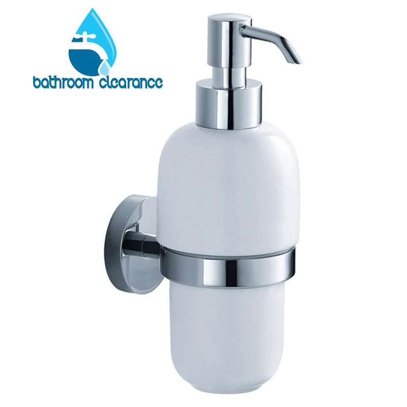 Yatin - Ceramic Soap Dispenser Wall/M - Bathroom Clearance