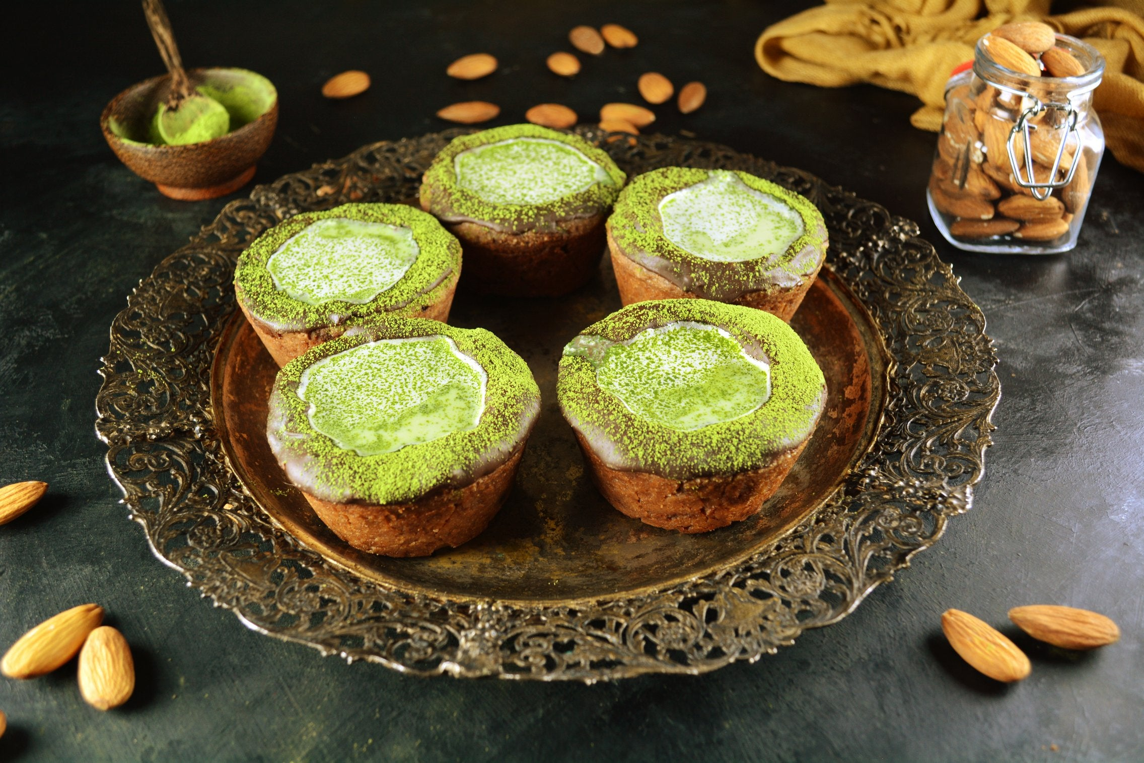 Cookie Shot Cups Perfect for Matcha Shots