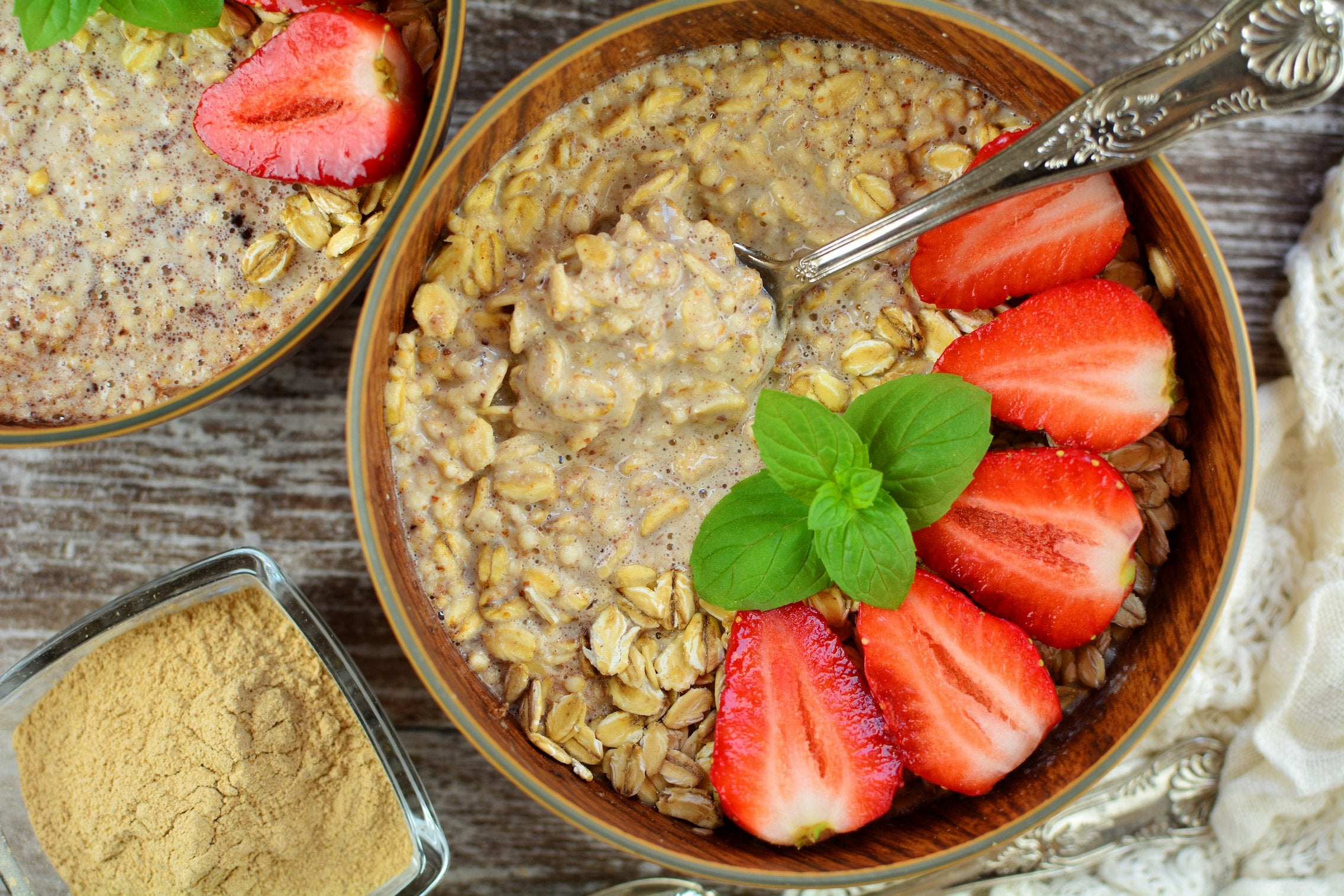 Maca Overnight Oats - Final Product