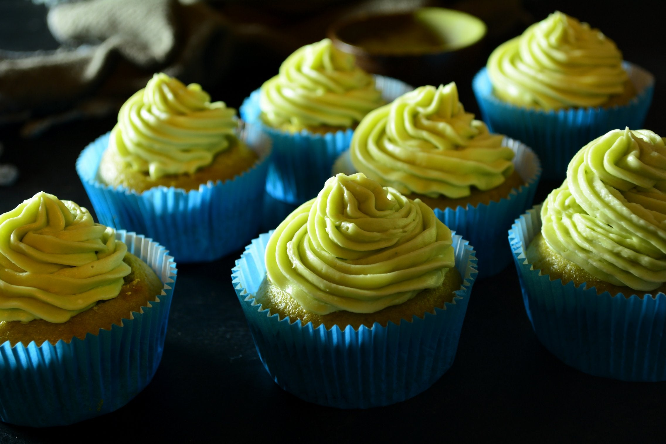 Matcha Cupcakes Vegan With Coconut Milk and Apple Cider