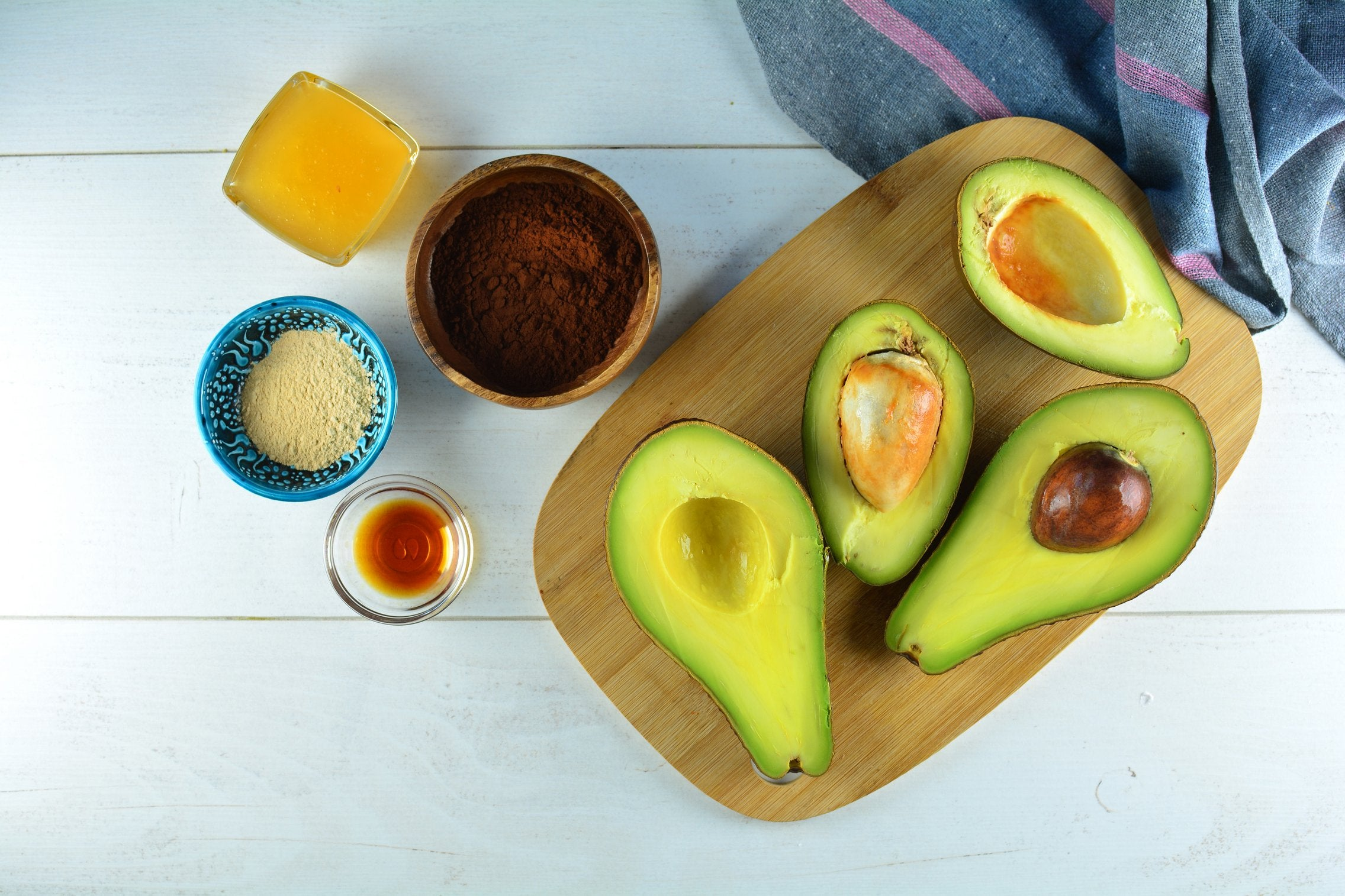 Avocado Maca Mousse Ingredients