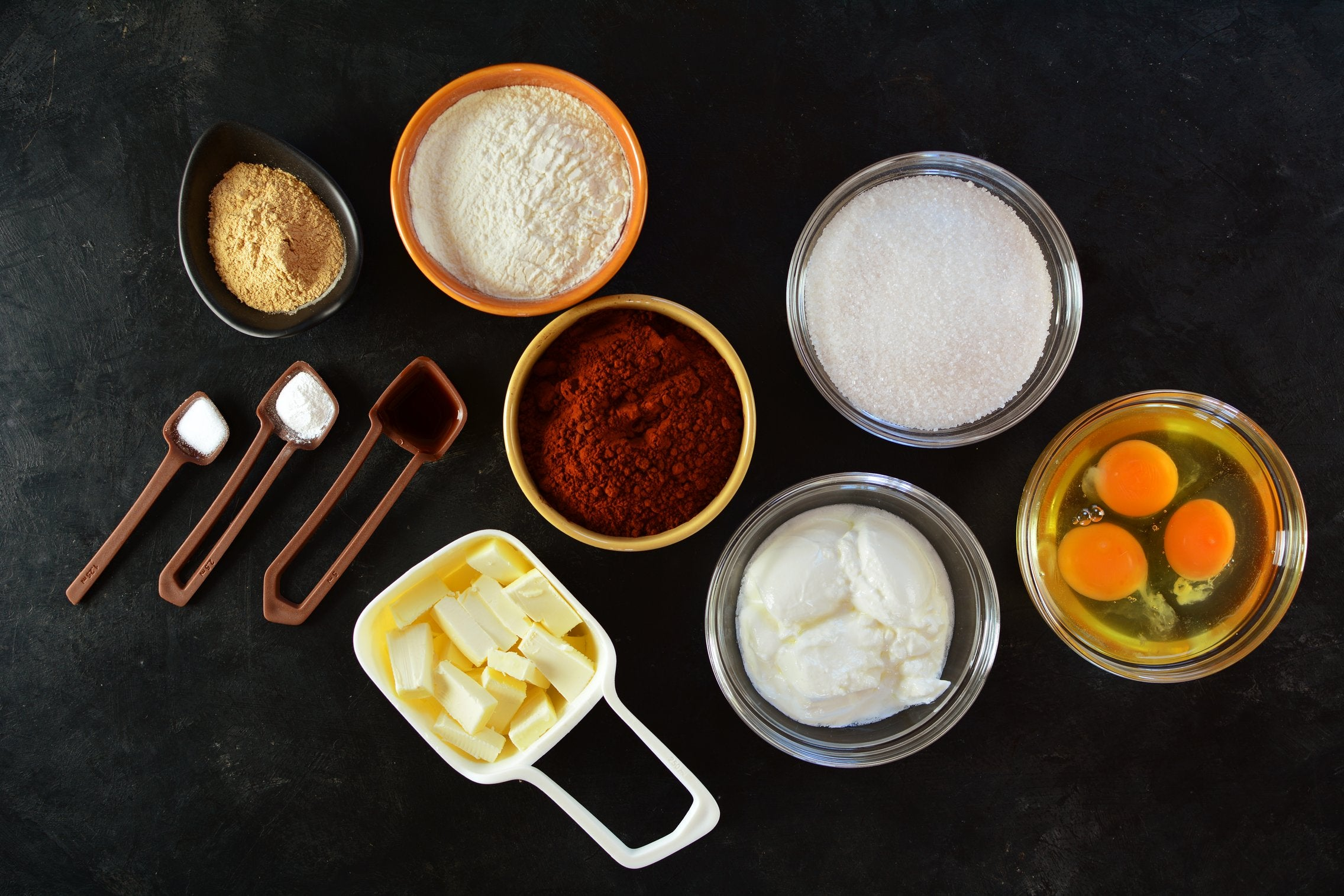 Sunflower Maca Cupcakes - Ingredients