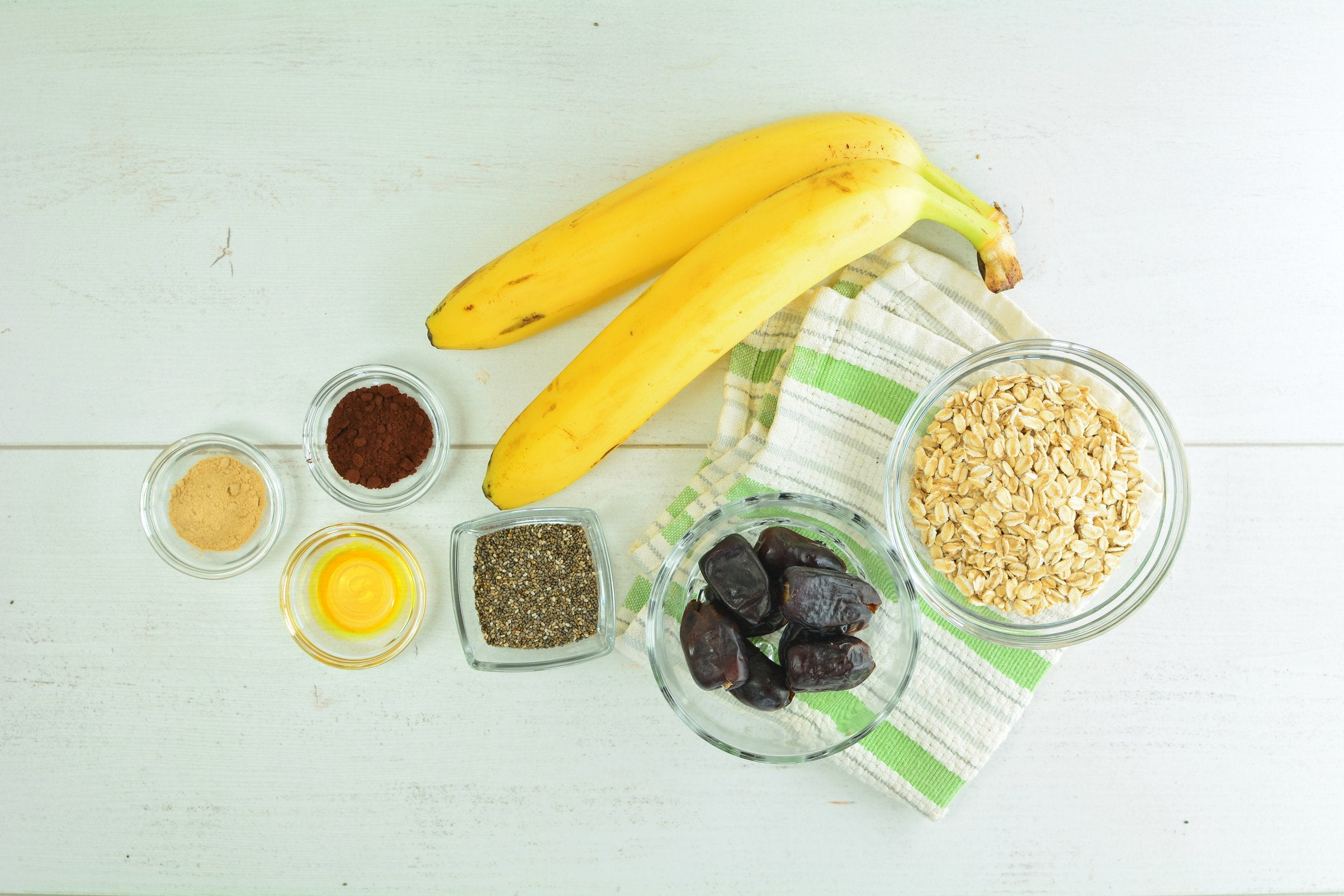 no-bake-mini-banana-tarts-ingredients
