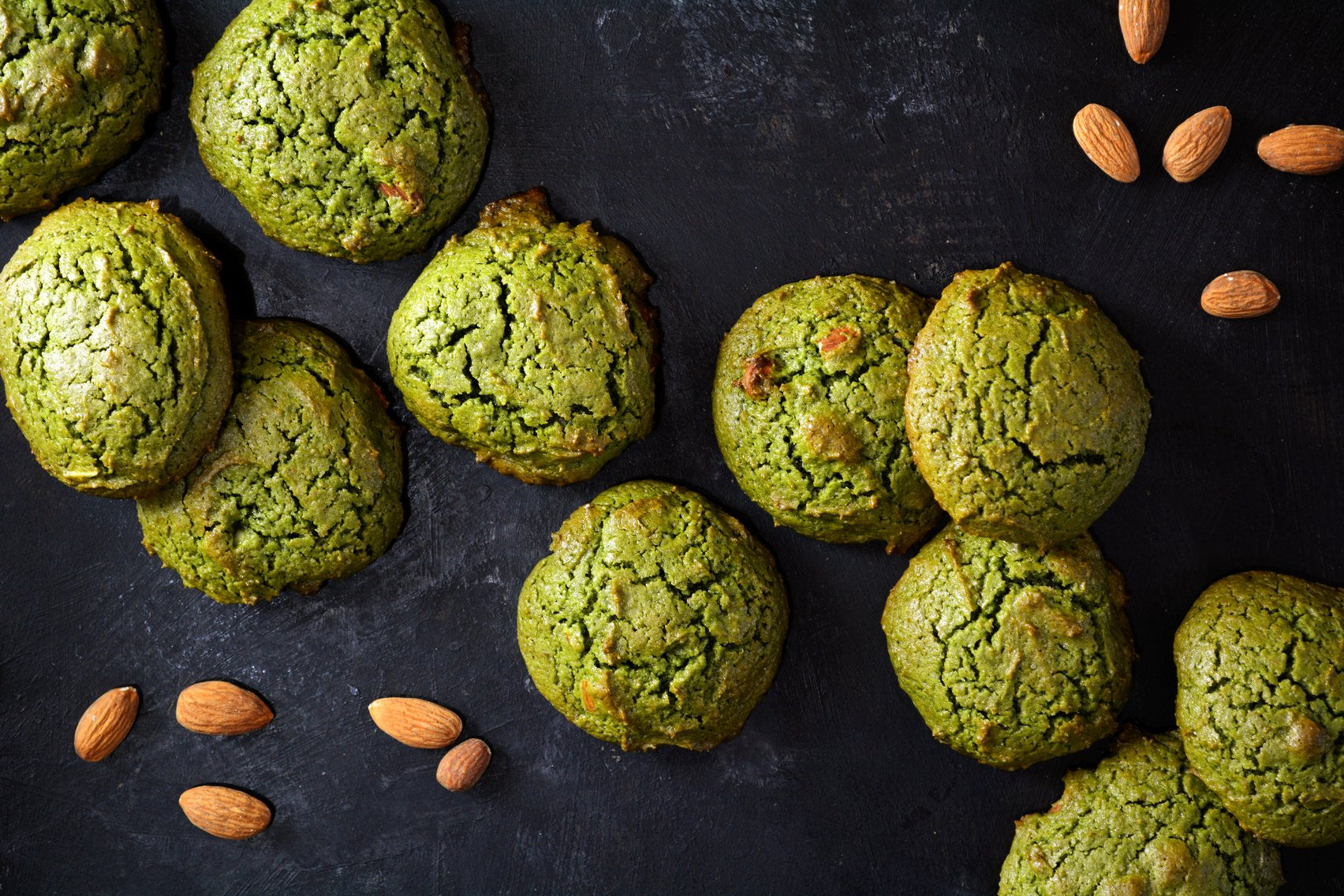 Matcha Cookies Perfect for Matcha Milk