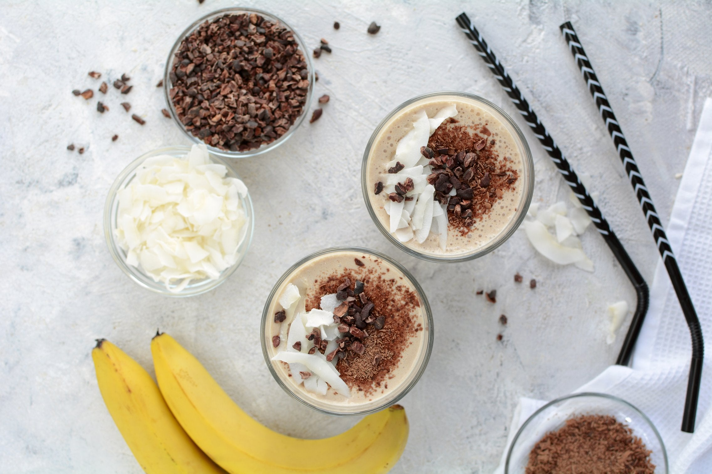 Maca Milkshake ingredients