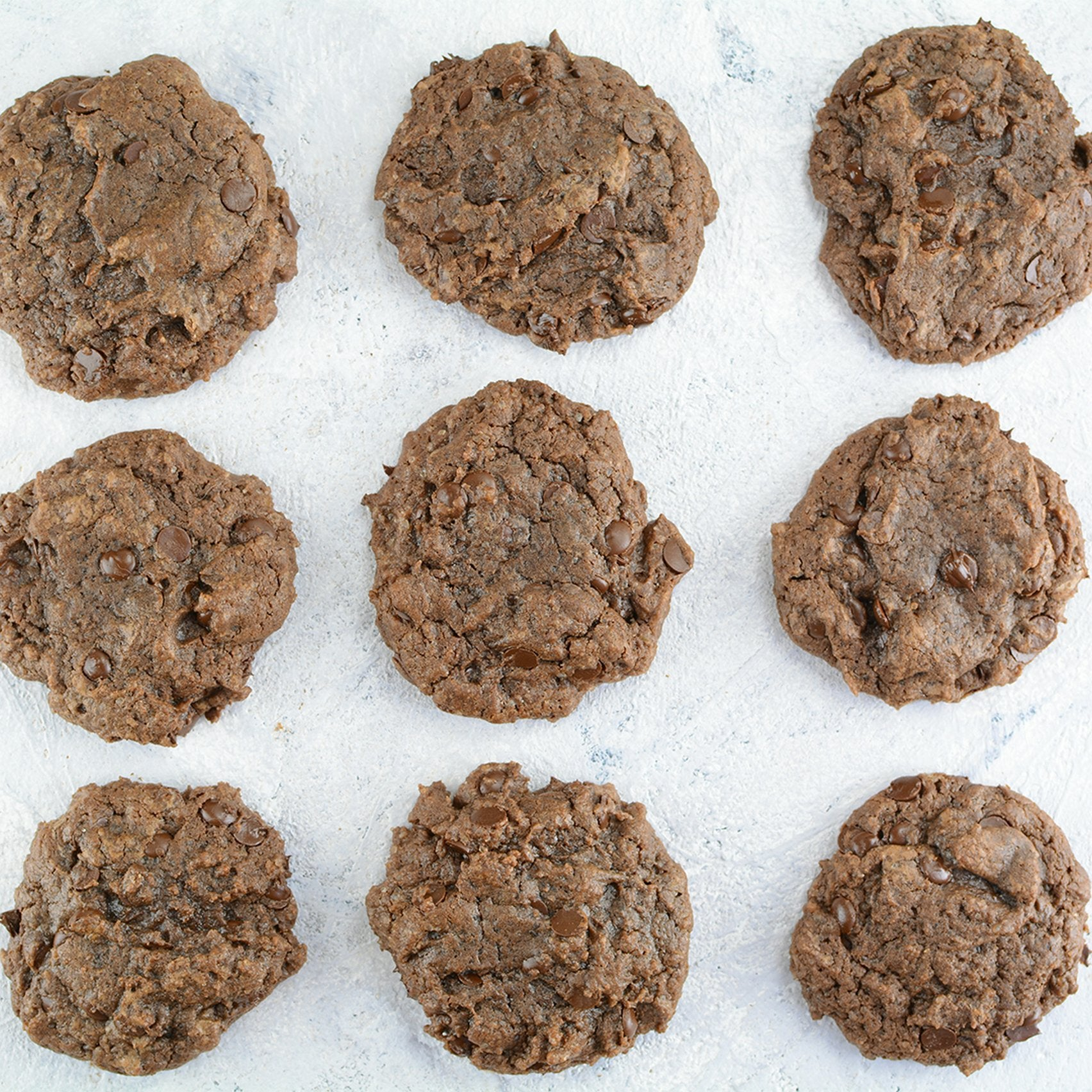 Cacao Chocolate Chips Cookies with Vanilla - preparation