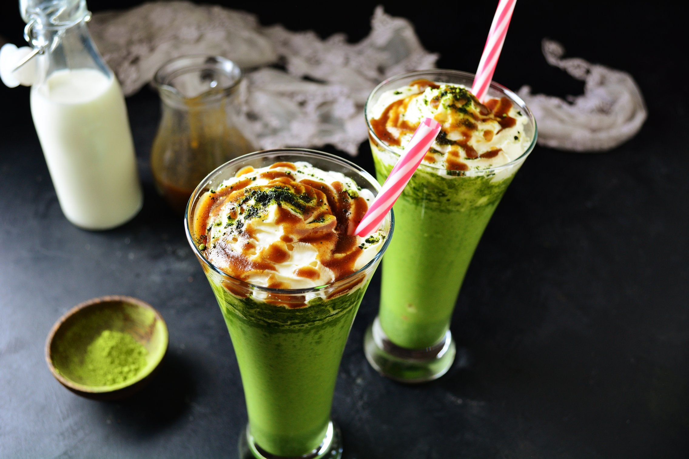 Matcha Frappuccino With Coconut Milk