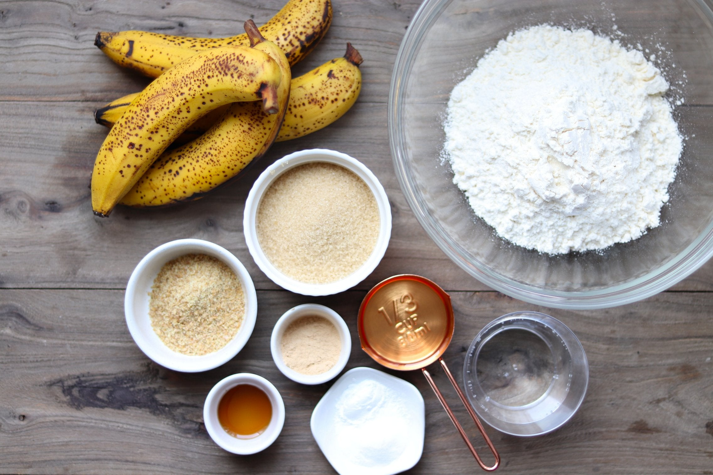 Maca Banana Bread with Coconut and Vanilla