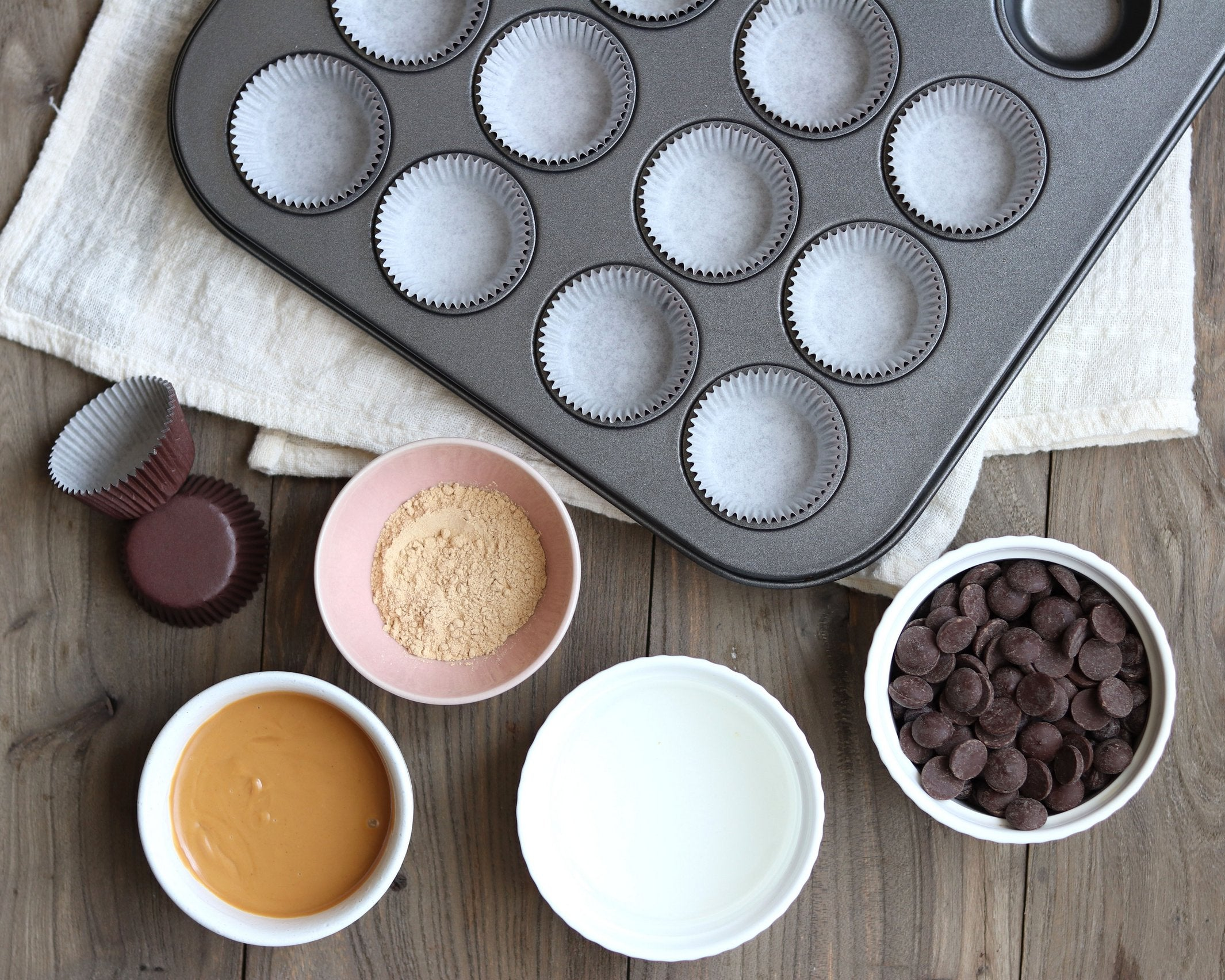 Maca Peanut Butter Chocolate Cups
