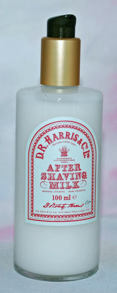 D.R. Harris Aftershave Milk 100ml with Pump