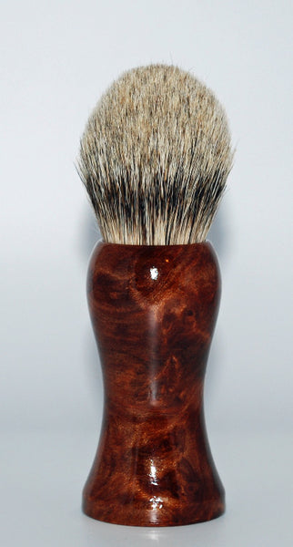 Straight Razor Designs Silver Tip Shaving Brush #2