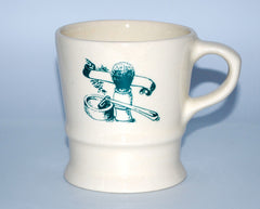 Classic Shaving Mug - Straight Razor Designs