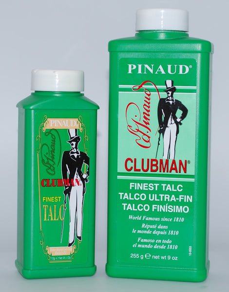 Pinaud - Clubman Talc White 4 or 9 Ounce