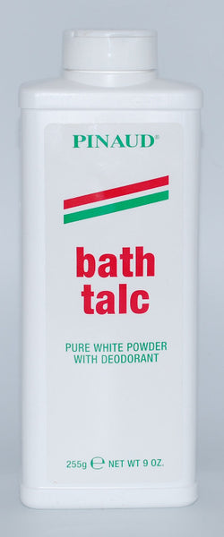 Pinaud Bath Talc - Pure White with Deodorant