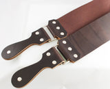 "Straight Razor Designs 3"" Premium IV  English Bridle Strop"