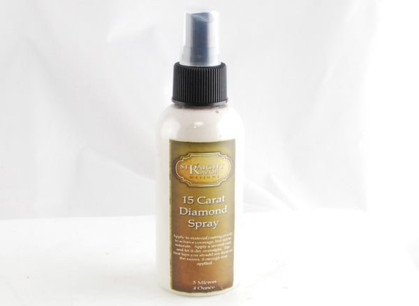 15 Carat .5 micron  Diamond Spray 4 oz. or 8 oz. Spray Bottle