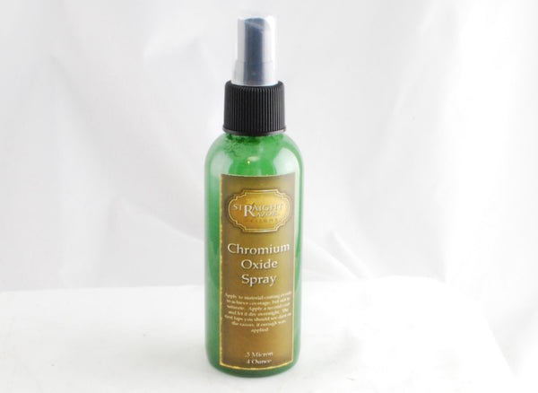 Chromium Oxide .5 Micron Spray 4 oz. or 8 oz. Spray Bottle