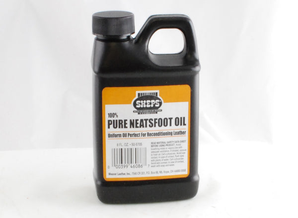 Sheps 100% Pure Neatsfoot Oil Leather Conditioner - 8 & 16 oz