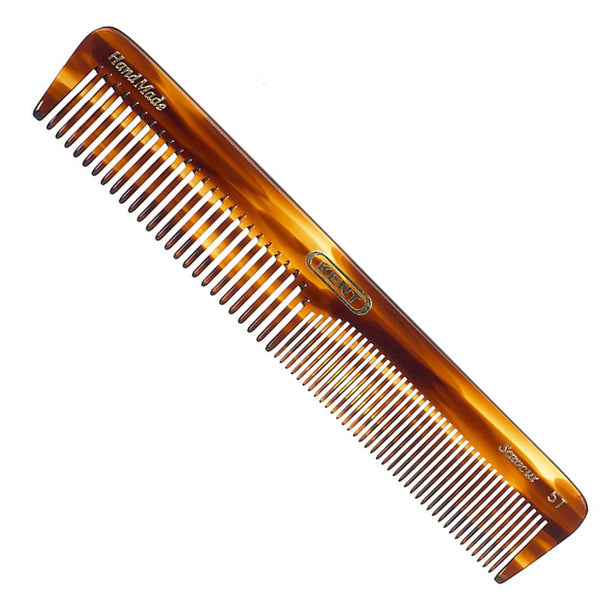 Kent Handmade Faux Tortiseshell Comb - 5T Dressing Table Comb
