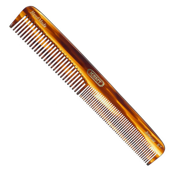 Kent Handmade Faux Tortiseshell Comb - 6T Dressing Table Comb