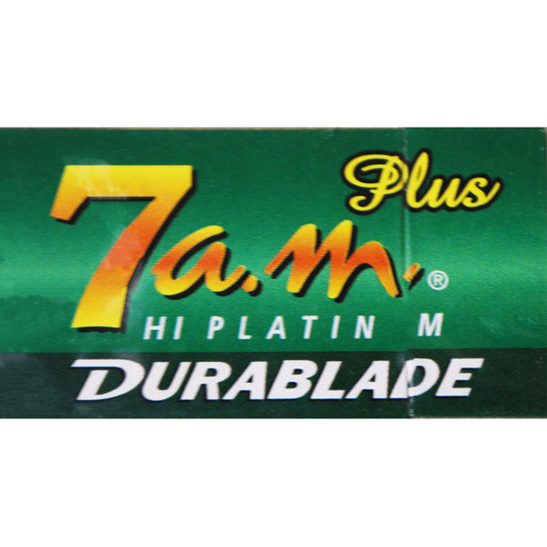 7 a.m. Hi Platinum Double Edge Blades 5-Pack