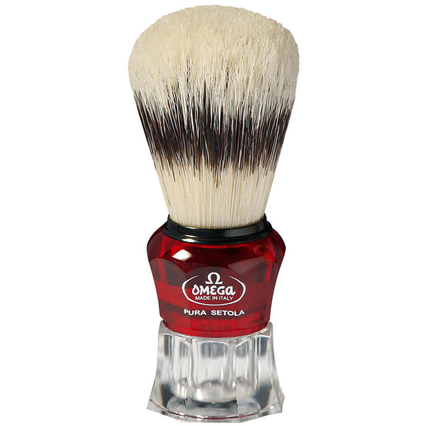 Omega 81052 Banded Boar Shaving Brush