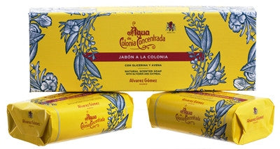 Alvarez Gomez Agua de Colonia Concentrada Soap Bar Gift Set