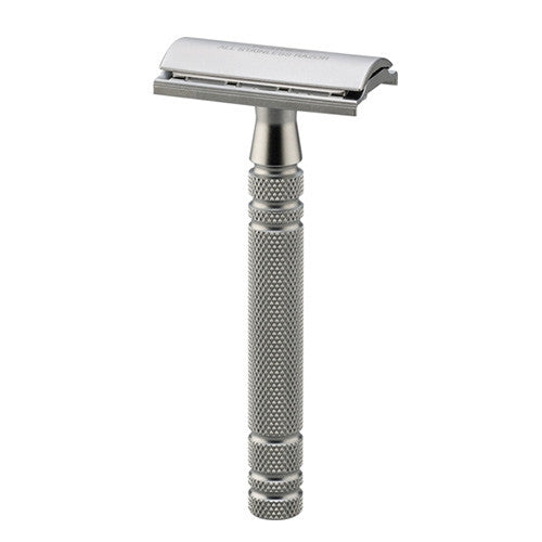 Feather Stainless Steel AS-D2 Double Edge Safety Razor