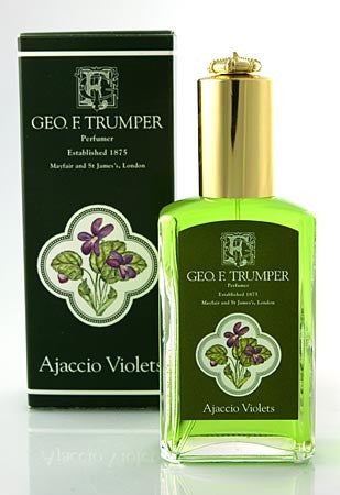 Geo. F. Trumper Ajaccio Violets Cologne Glass Atomiser 50ml