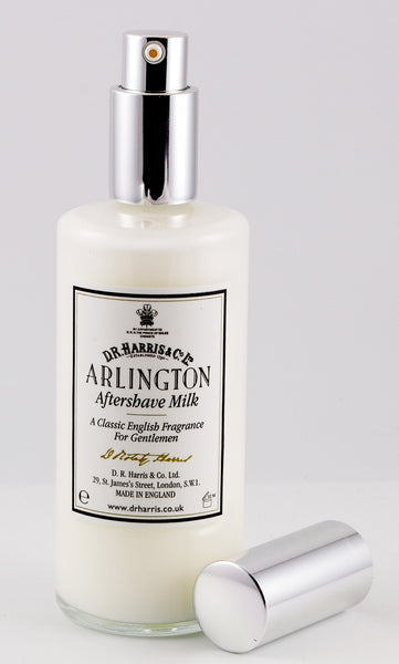 D.R. Harris Arlington Aftershave Milk 100ml with Pump