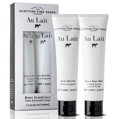 Scottish Fine Soaps Au Lait Body Essentials 2x100ml