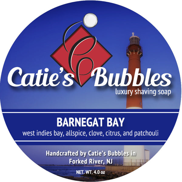 Catie's Bubbles Barnegat Bay Luxury Shaving Soap 4oz