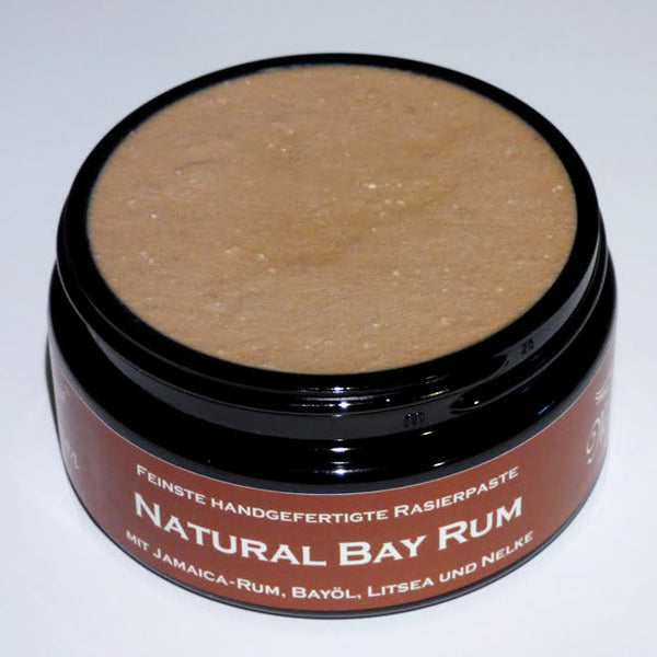 Meißner Tremonia Natural Bay Rum Shaving Paste 200ml