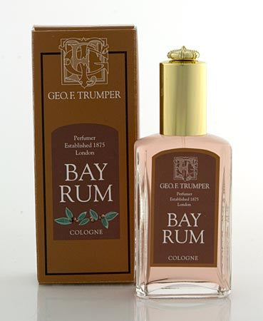 Geo. F. Trumper Bay Rum Cologne Glass Atomiser Bottle 50ml