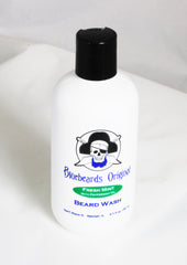 Bluebeards Original Fresh Mint Beard Wash - Straight Razor Designs