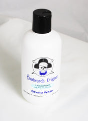 Bluebeards Original Unscented Beard Wash - Straight Razor Designs