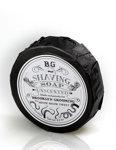 Brooklyn Grooming Shaving Soap Unscented 4oz