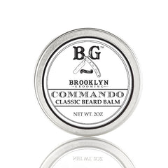 Brooklyn Grooming Beard Balm - Commando 2oz - Straight Razor Designs