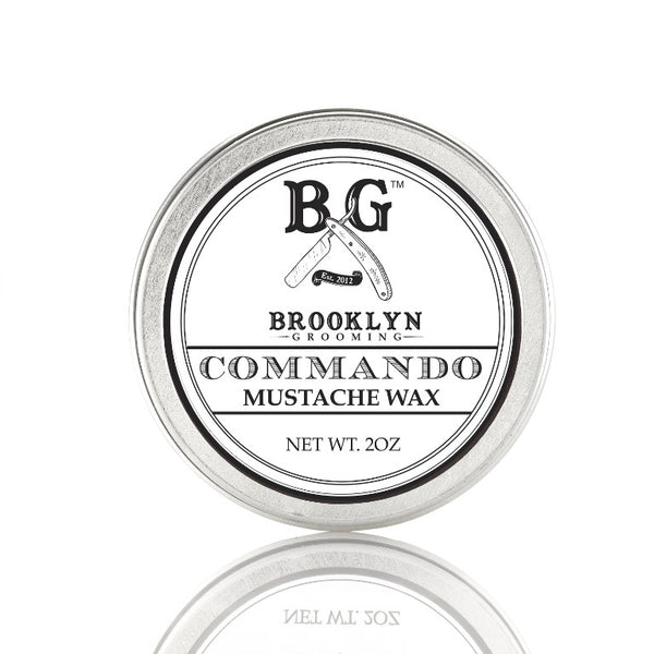 Brooklyn Grooming Mustache Wax - Commando 2oz