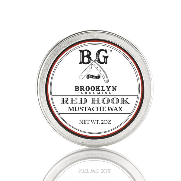 Brooklyn Grooming Mustache Wax - Red Hook 2oz